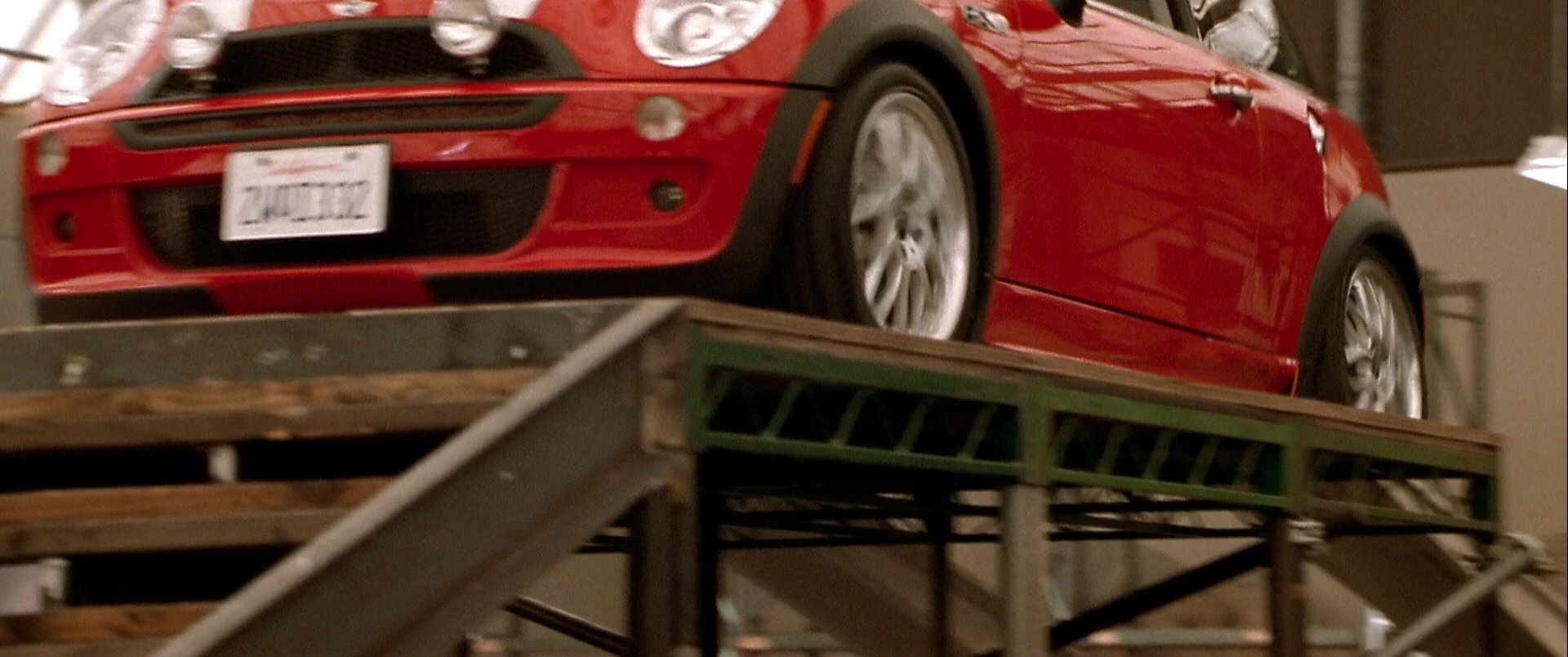 MINI Cooper S Red Car Used by Charlize Theron in The ...