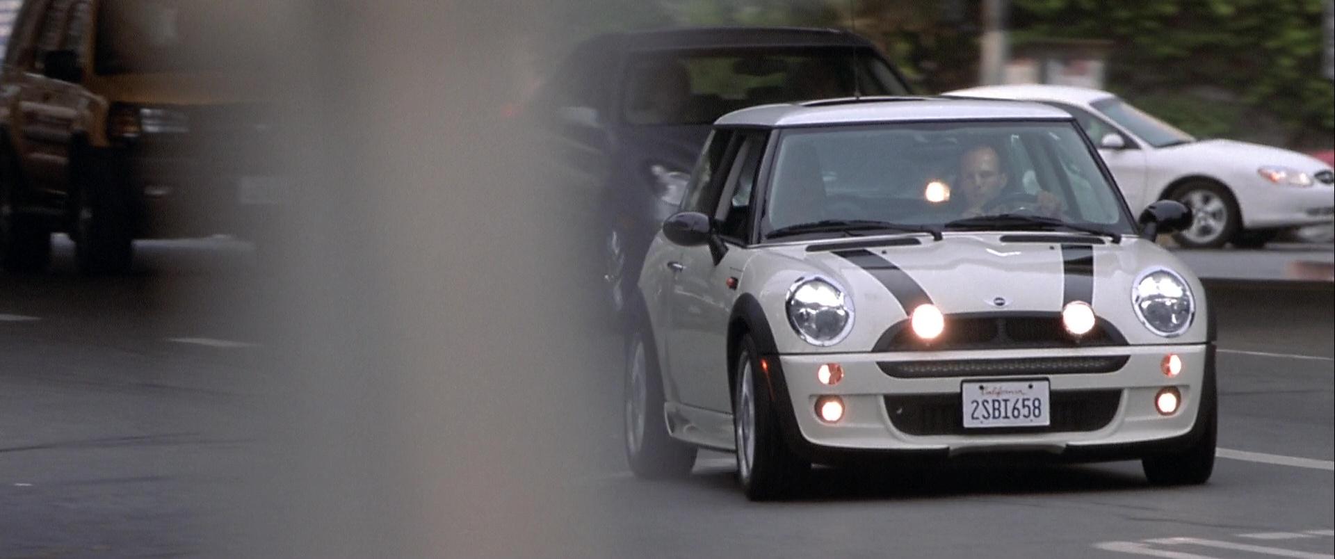 Mini Cooper S White Car Used By Jason Statham In The Italian Job
