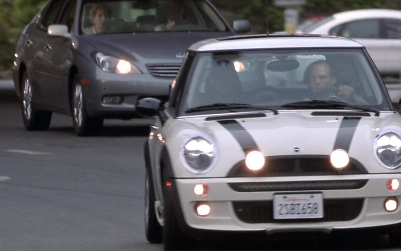 MINI Cooper S White Car Used by Jason Statham in The Italian Job (2)
