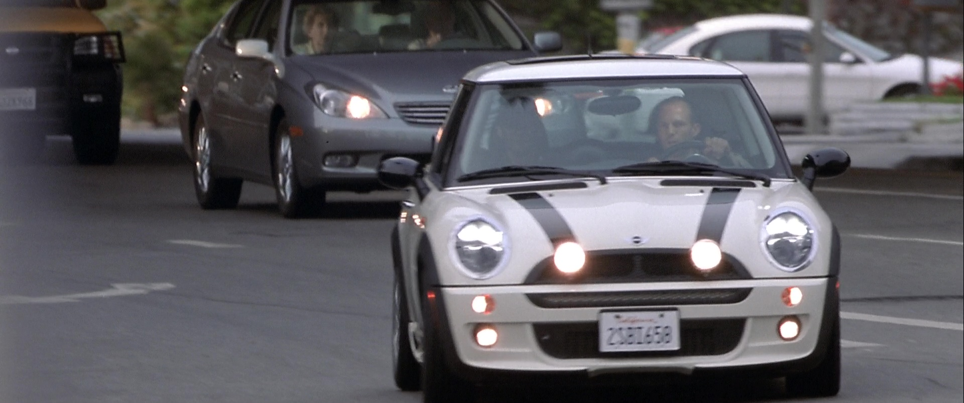 Mini Cooper S White Car Used By Jason Statham In The