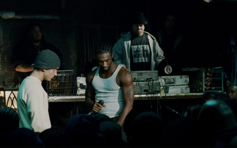 Maurice Malone Designs Men's T-Shirt in 8 Mile (1)