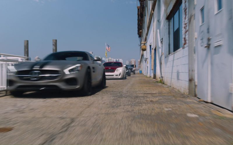 Mercedes-AMG GT S Sports Car in The Fate of the Furious (1)