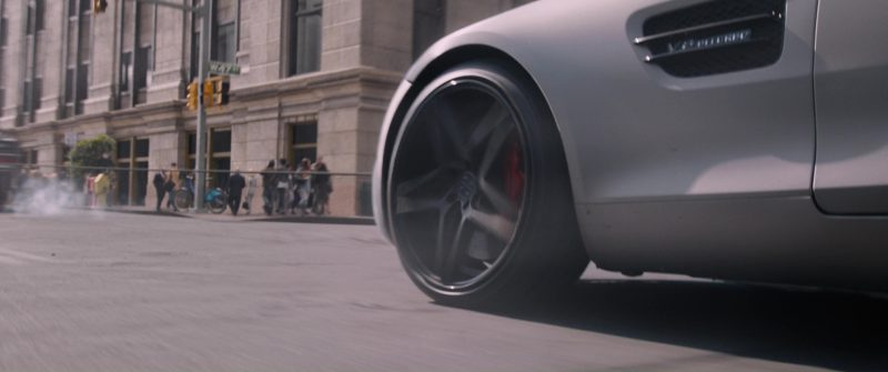 Mercedes-AMG GT S Sports Car in The Fate of the Furious (2017) Movie Product Placement
