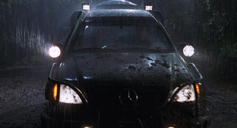 Mercedes-Benz ML-Class Cars in The Lost World: Jurassic Park (1997) Movie Product Placement