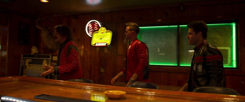 Miller Lite Sign (Bar) in Logan Lucky (2017) Movie Product Placement