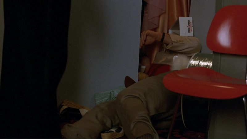 Minnetonka Moccasins Box in The Marrying Man (1991) Movie Product Placement