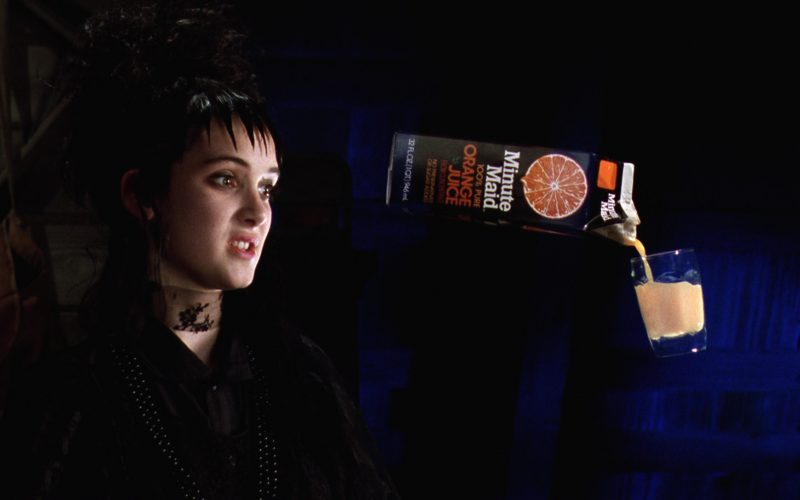 Minute Maid Orange Juice in Beetlejuice (4)