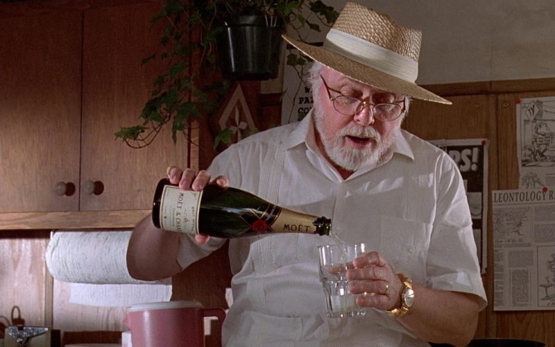Moët & Chandon Champagne in Jurassic Park (13)