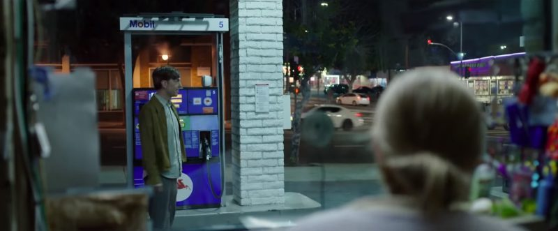 Mobil Gas Station in The Clapper (2017) Movie Product Placement