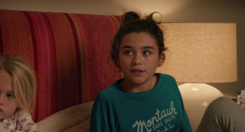 Montauk Bake Shoppe Sweatshirt Worn by Lola Flanery in Home Again (2017) Movie Product Placement