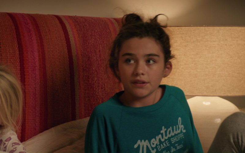 Montauk Bake Shoppe Sweatshirt Worn by Lola Flanery in Home Again