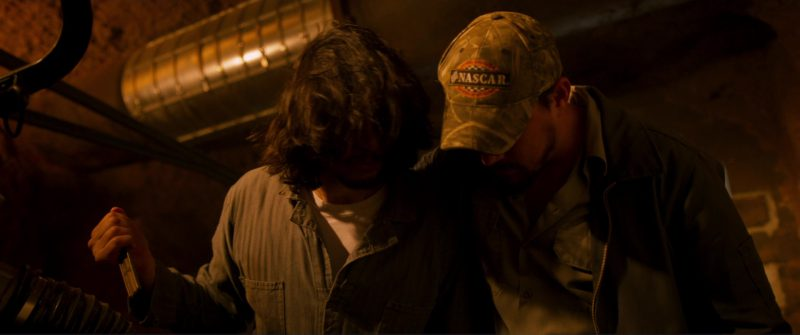 Nascar Cap Worn by Channing Tatum in Logan Lucky (2017) Movie Product Placement