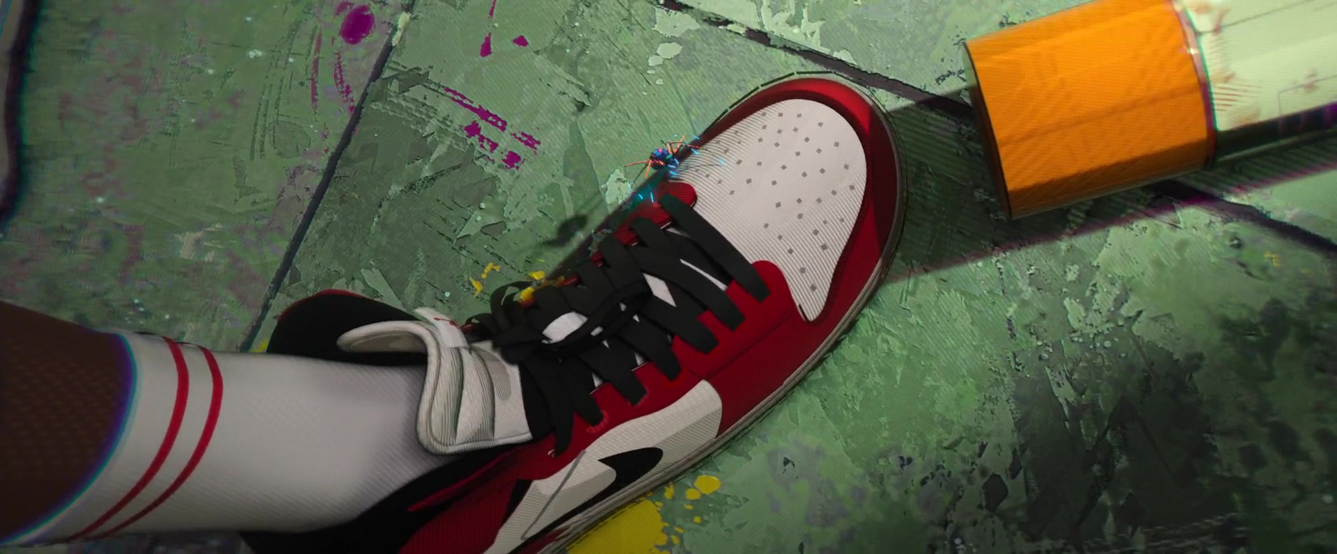 012183e50a5f75 Nike Air Jordan Sneakers Worn by Miles Morales in Spider-Man  Into the  Spider