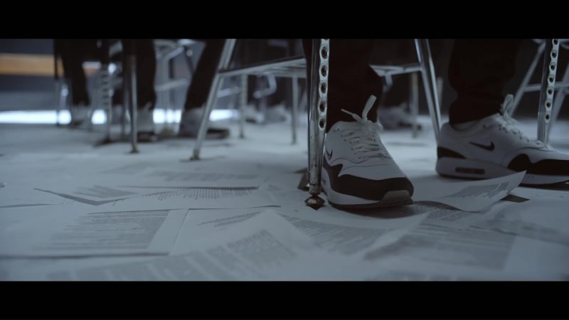 Nike Air Max 1 Premium SC Men's Shoes Worn by Eminem in Walk On Water (2017) Official Music Video Product Placement