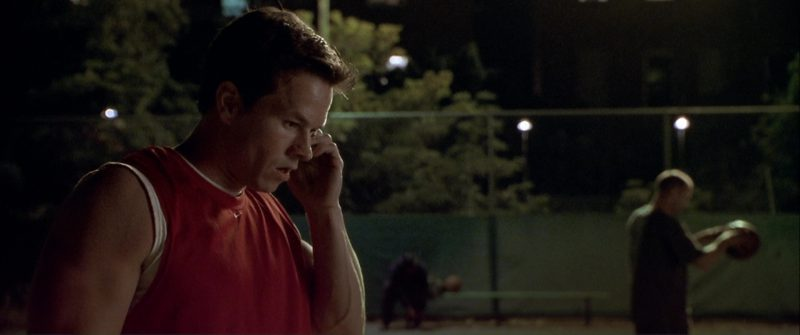 Nike Red T-Shirt Worn by Mark Wahlberg in The Italian Job (2003) - Movie Product Placement