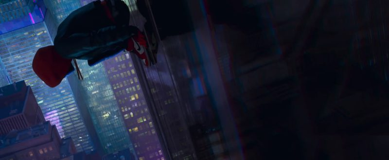 Nike Sneakers in Spider-Man: Into the Spider-Verse (2018) Animation Movie Product Placement