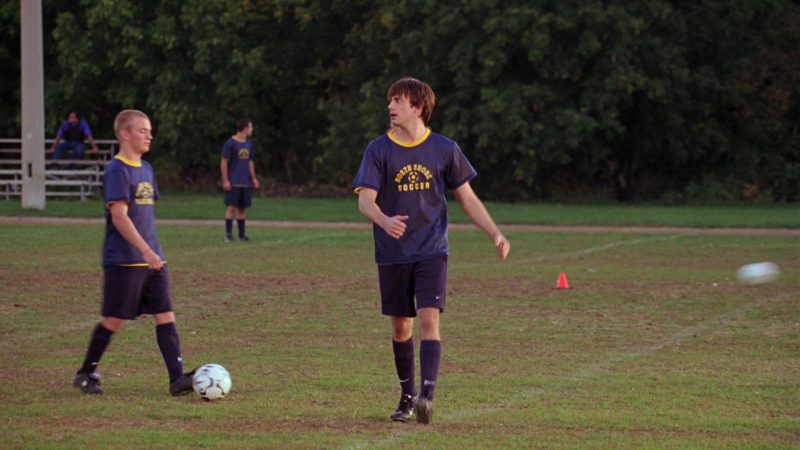 Nike Soccer Shorts, Socks and Boots Worn by Jonathan Bennett in Mean Girls (2004) Movie Product Placement