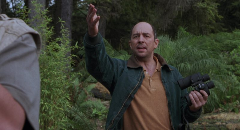 Nikon Binocular Used by Richard Schiff in The Lost World: Jurassic Park (1997) Movie Product Placement