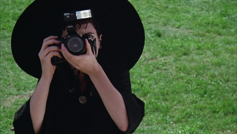 Nikon Photo Camera Used by Winona Ryder in Beetlejuice (1988) Movie Product Placement
