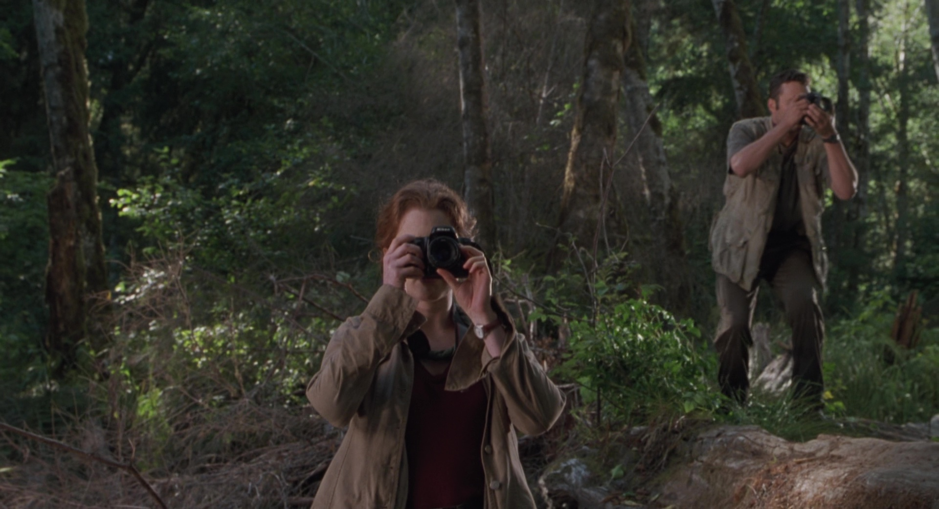 Nikon Photo Cameras Used By Julianne Moore In The Lost World Jurassic Park 1997