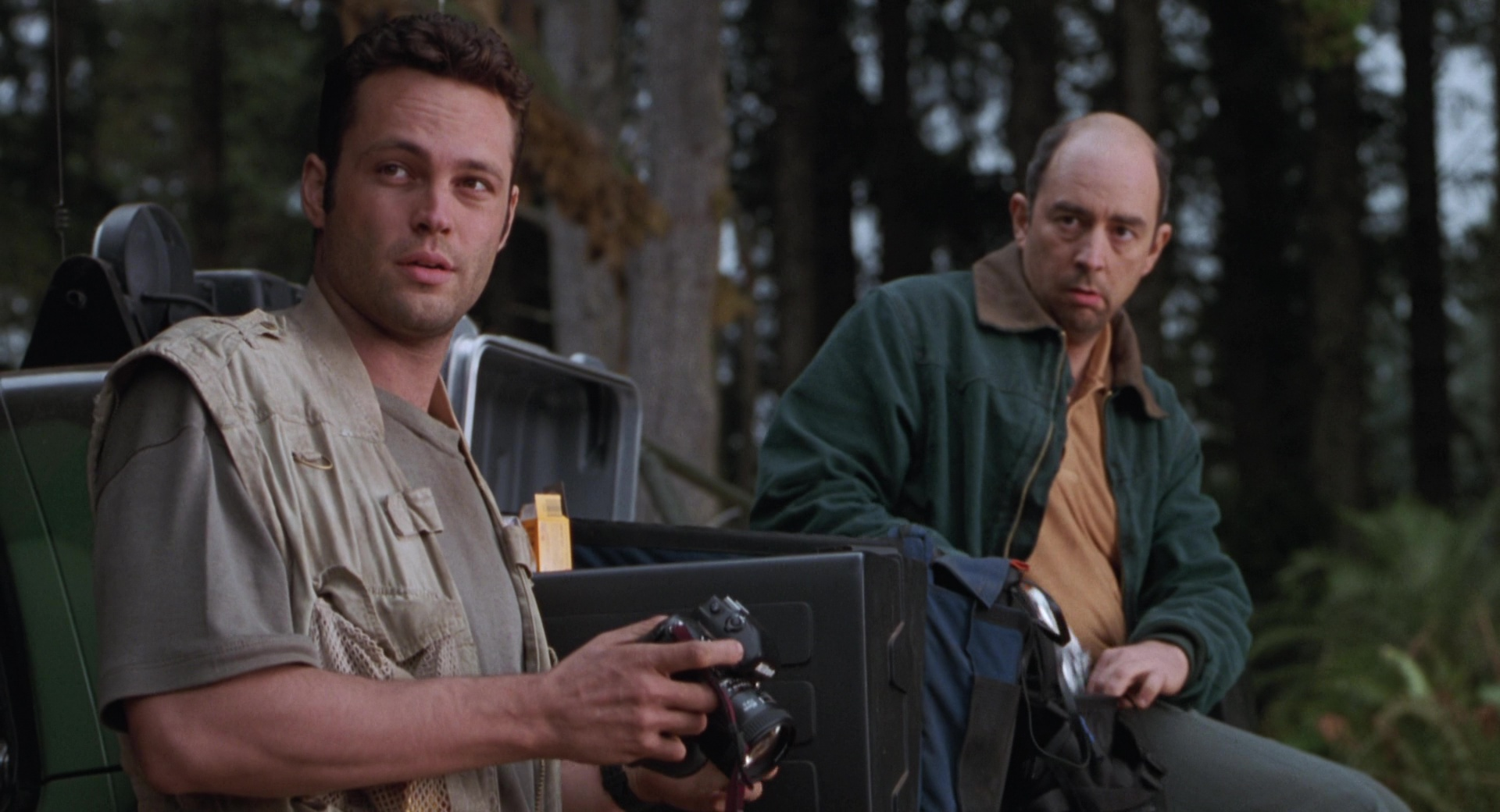 Nikon Photo Cameras Used by Vince Vaughn in The Lost World
