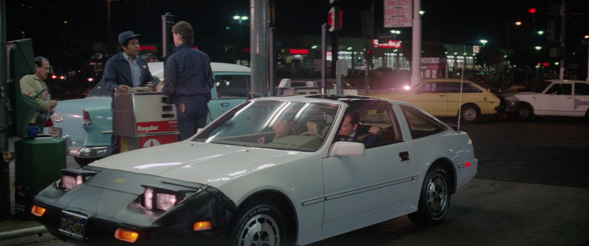 Nissan 300zx 2 2 Z31 White Car Used By Bruce Willis In
