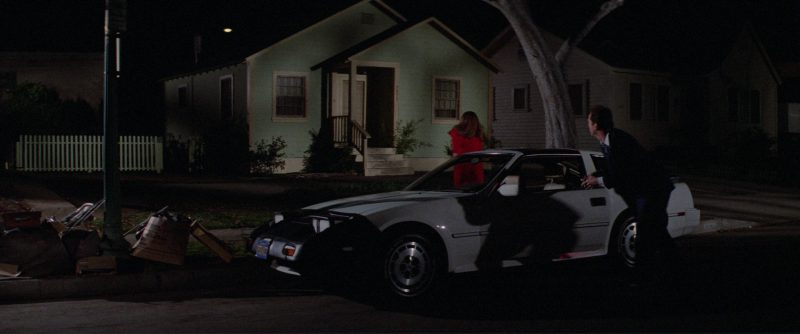 Nissan 300ZX 2+2 [Z31] White Car Used by Bruce Willis in Blind Date (1987) - Movie Product Placement