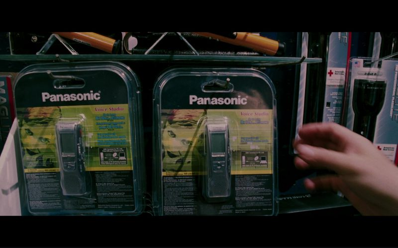 Panasonic Digital Voice Recorder Used by Michael Douglas in The Sentinel (1)