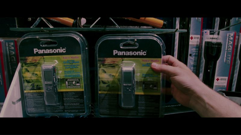 Panasonic Digital Voice Recorder Used by Michael Douglas in The Sentinel (2006) - Movie Product Placement