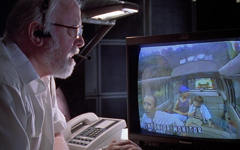 Panasonic Monitor Used by Richard Attenborough in Jurassic Park (3)