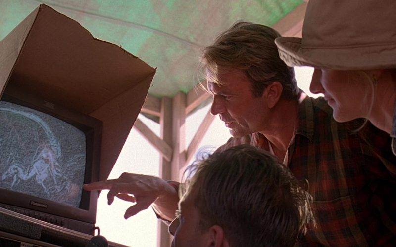 Panasonic Monitor Used by Sam Neill in Jurassic Park (4)