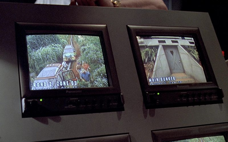 Panasonic Monitors in Jurassic Park (2)