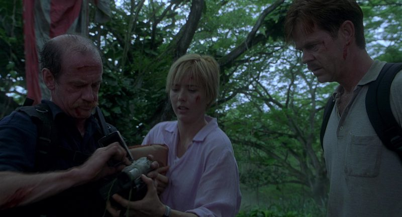 Panasonic Video Camera in Jurassic Park 3 (2001) Movie Product Placement