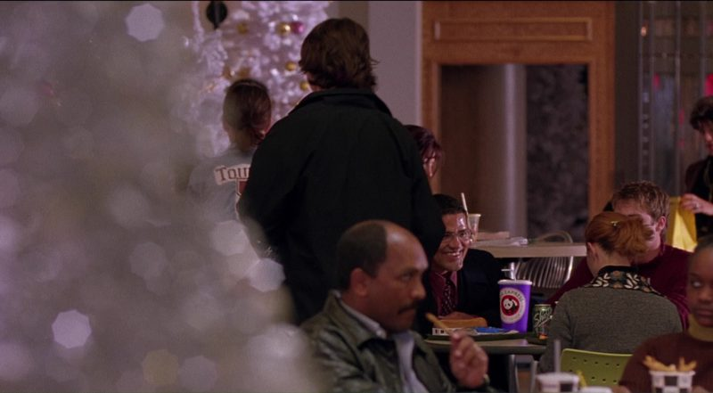Panda Express Fast Casual Chinese Restaurant in Saved! (2004) Movie Product Placement