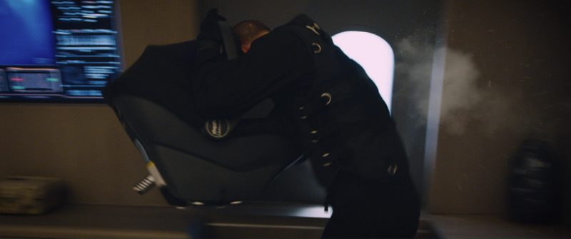 Peg Perego Baby Car Seat in The Fate of the Furious (2017) Movie Product Placement