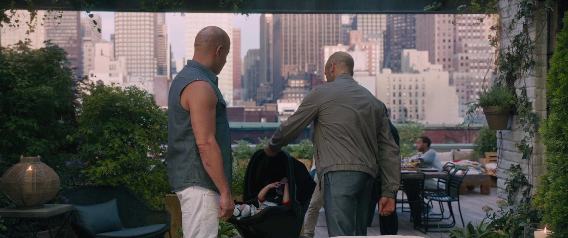 Peg Perego Baby Car Seat In The Fate Of The Furious 2017