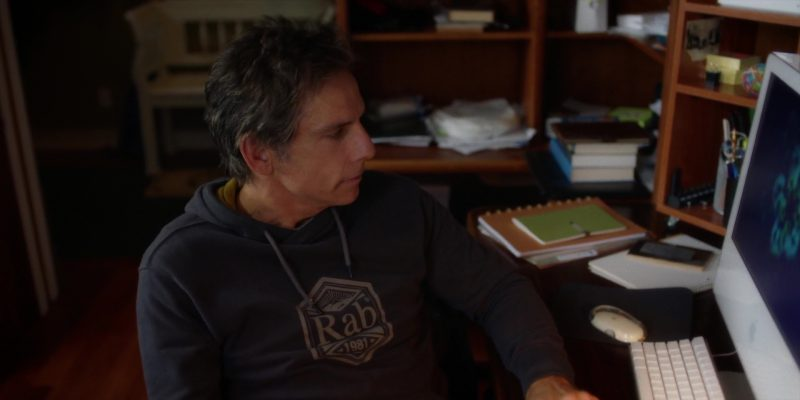 Rab Equipment Men's T-Shirt by Ben Stiller in Brad's Status (2017) - Movie Product Placement