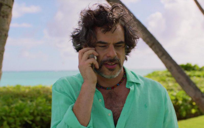Ralph Lauren Green Shirt Worn by Jemaine Clement in Brad's Status (5)