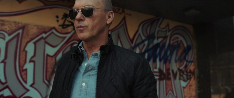 Randolph Engineering Aviator Sunglasses Worn by Michael Keaton in American Assassin (2017) Movie Product Placement
