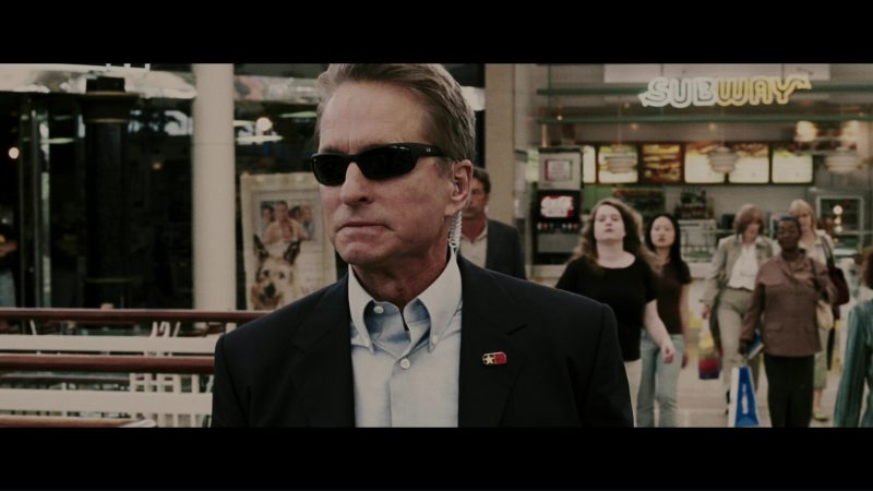 Ray-Ban Sunglasses and Subway in The Sentinel (2006) Movie Product Placement
