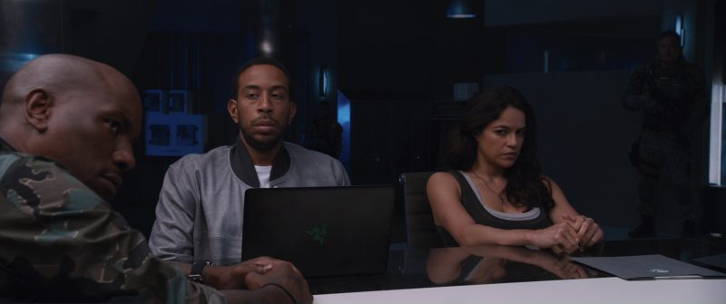 "Razer Blade 14"" Gaming Notebook Used by Ludacris (Christopher Brian Bridges) in The Fate of the Furious (2017) - Movie Product Placement"