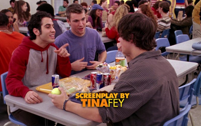 Red Bull, Coca-Cola and Gatorade Drinks in Mean Girls