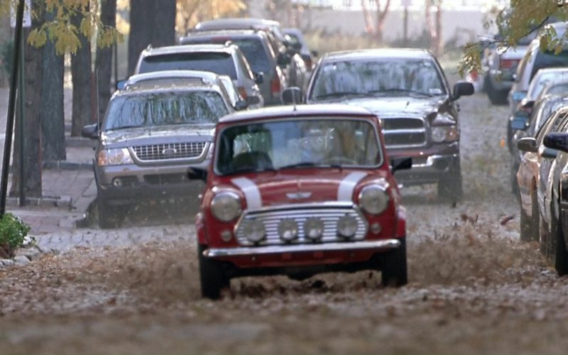 Rover Mini Cooper MkVII Used by Charlize Theron in The Italian Job (1)