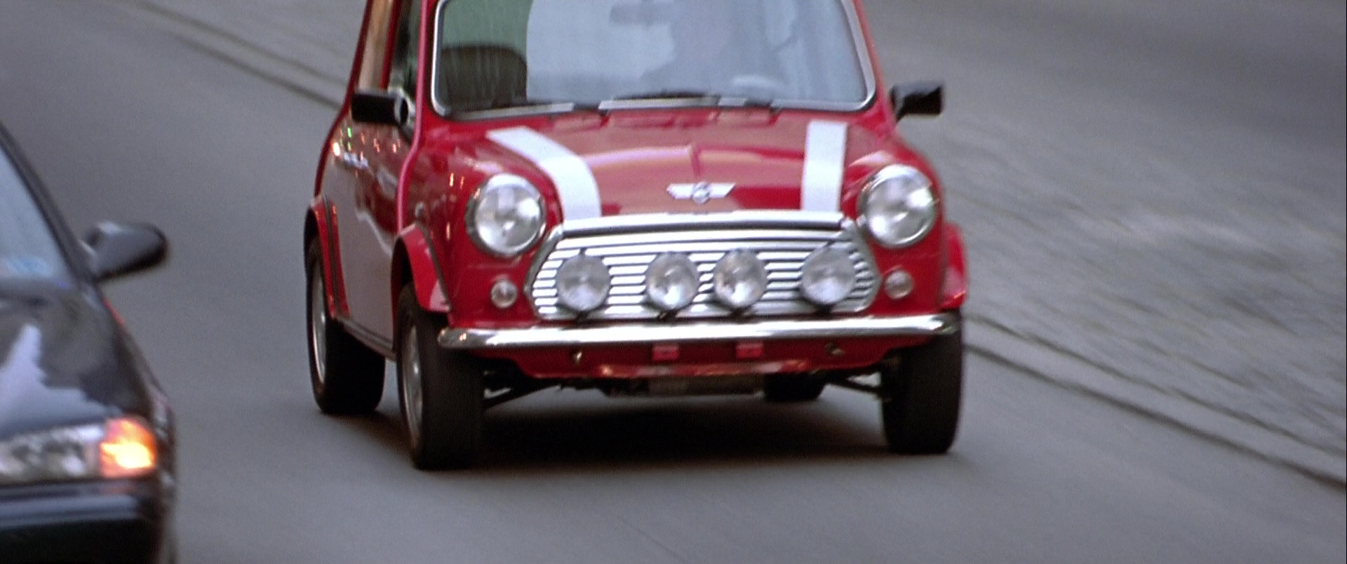 Rover Mini Cooper Mkvii Used By Charlize Theron In The Italian Job 2003 Movie