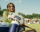 Rubbermaid Blue Cooler Used by Riley Keough in Logan Lucky (...