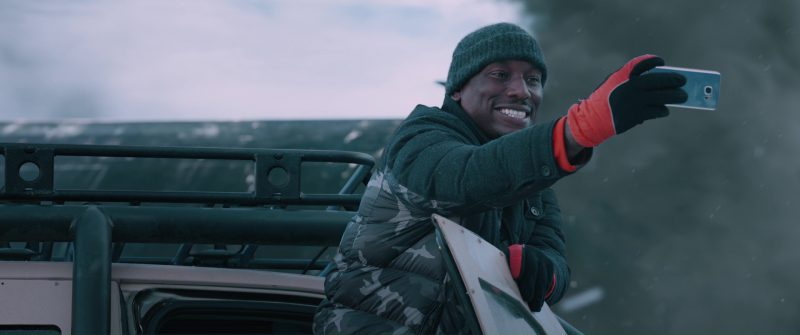 Samsung Galaxy (Android) Smartphone Used by Tyrese Gibson in The Fate of the Furious (2017) - Movie Product Placement