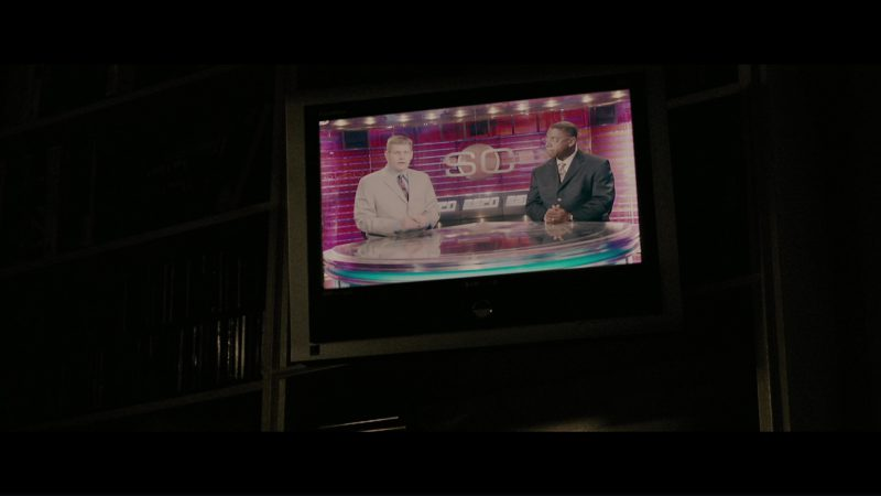 Samsung TV and ESPN in The Sentinel (2006) - Movie Product Placement