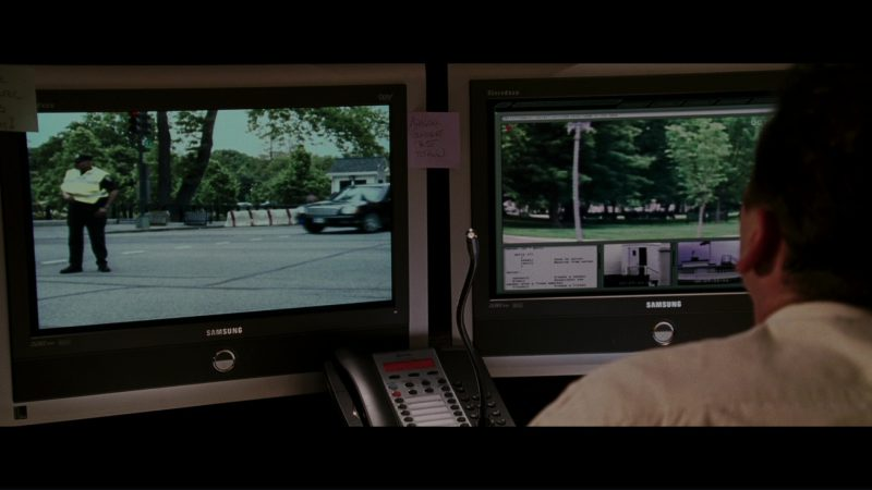 Samsung Tantus TV's in The Sentinel (2006) - Movie Product Placement