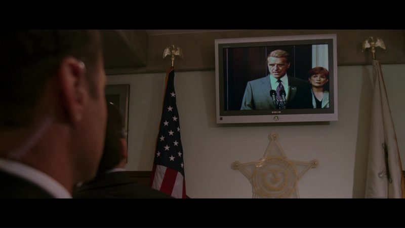 Samsung Tantus TV's in The Sentinel (2006) Movie Product Placement