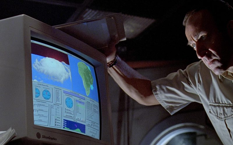 Silicon Graphics Monitor in Jurassic Park (1)